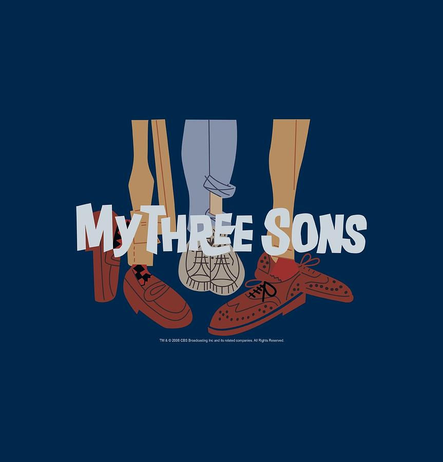 My Three Sons Digital Art - My Three Sons - Shoes Logo by Brand A