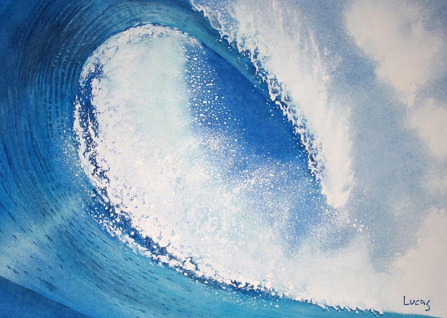 Ocean Painting - My Wave by Jeff Lucas