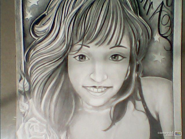 My Wife Drawing by Luis De Leon