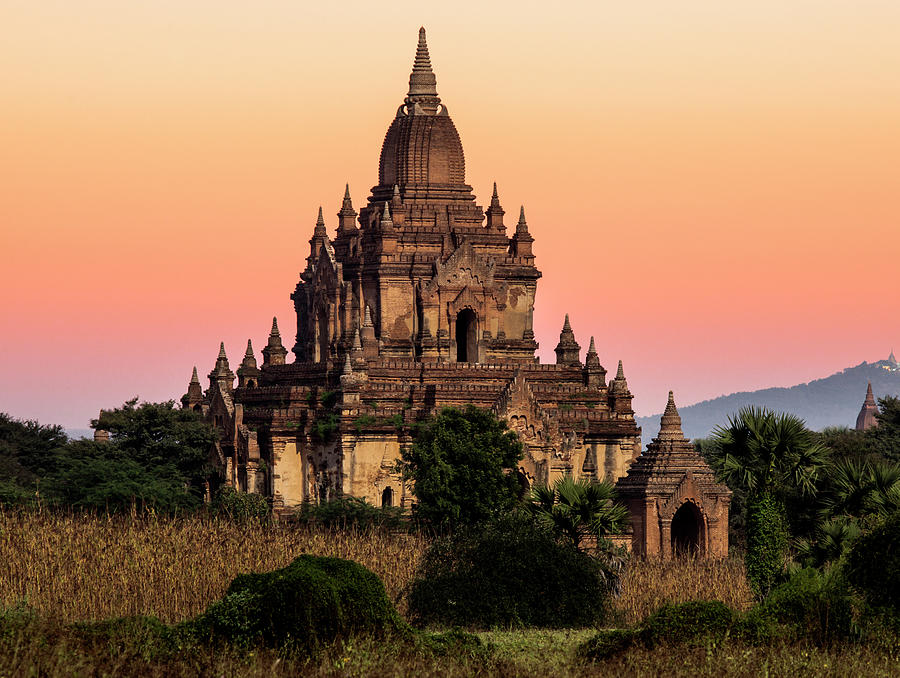 Myanmar, Bagan, Ancient Temple At Photograph by Martin Puddy