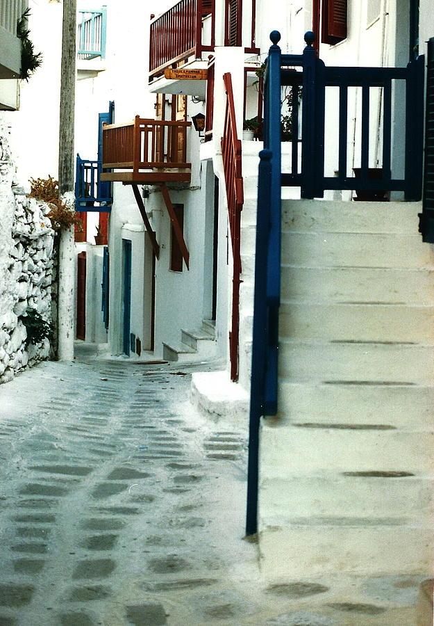 Mykonos Photograph - Mykonos Charm by Jacqueline M Lewis