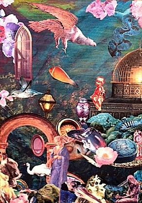 Surrealism Mixed Media - Mysteries by Gail Kirtz