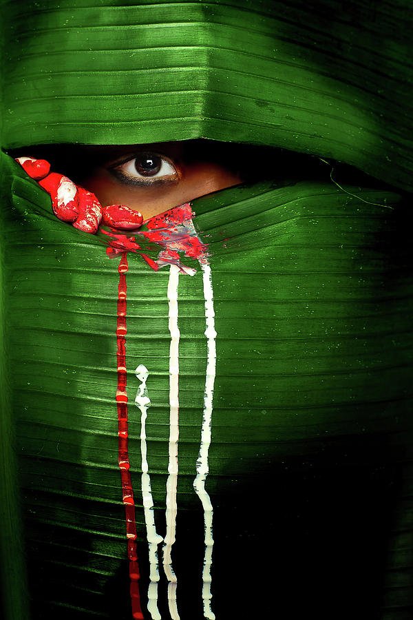 Eye Photograph - Mysterious Eye by Adithya Zen