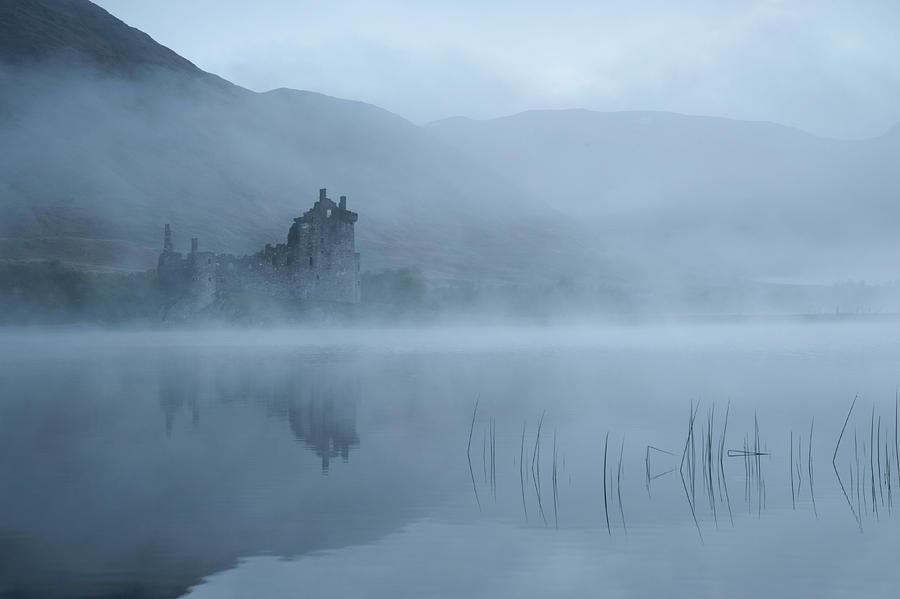Castle Photograph - Mysterious by Susanne Landolt