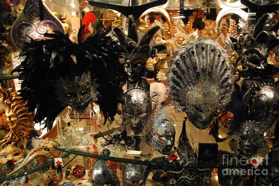 Venice Carnival Photograph - Carnival Of Venice by Jacqueline M Lewis