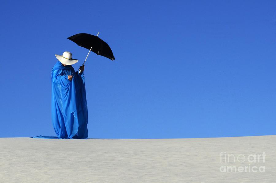 Dream Photograph - Mystic Blue 6 by Bob Christopher