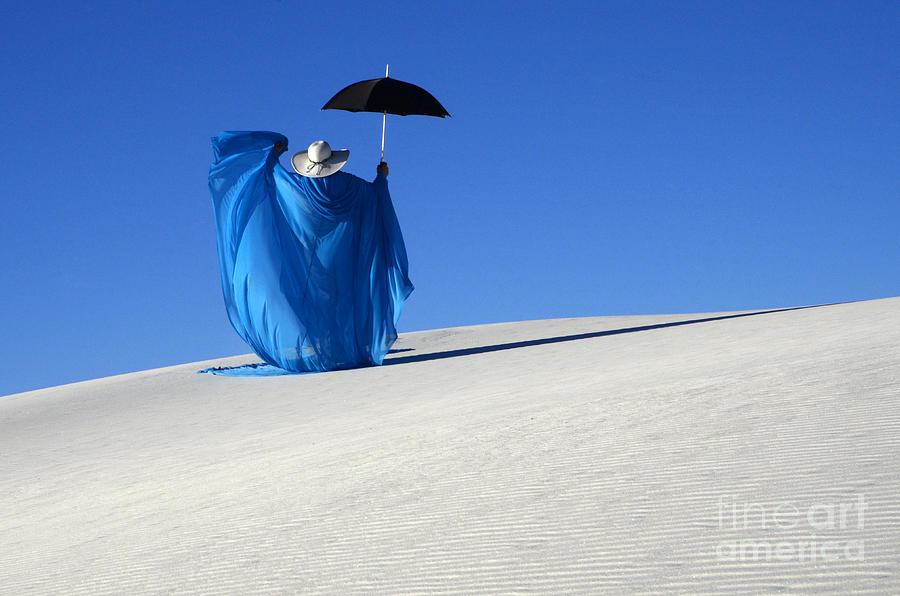Dream Photograph - Mystic Blue 7 by Bob Christopher