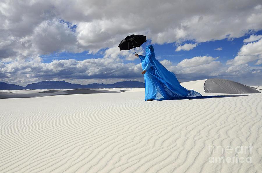 Dream Photograph - Mystic Blue 8 by Bob Christopher