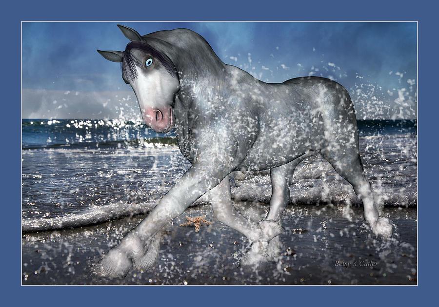 Horse Digital Art - Mystic Inspiration by Betsy Knapp