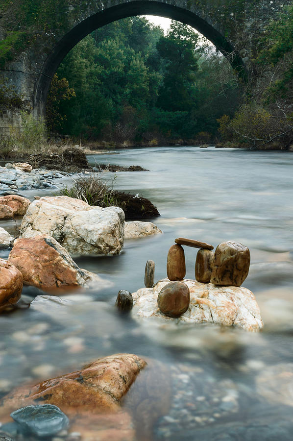River Photograph - Mystic River I by Marco Oliveira