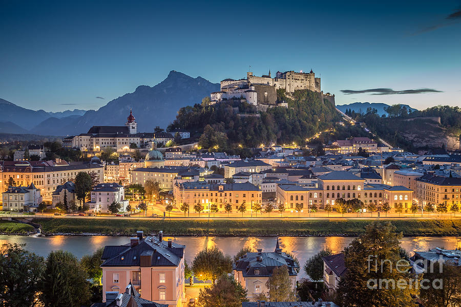 Mystic Salzburg Photograph by JR Photography
