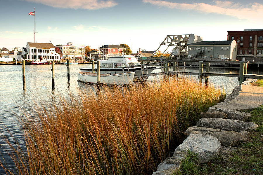 Mystic Seaport Ct Photograph by Gail Maloney