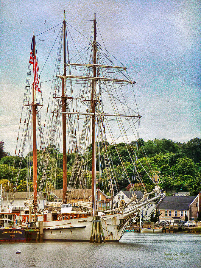 Mystic Seaport  by Julia Springer