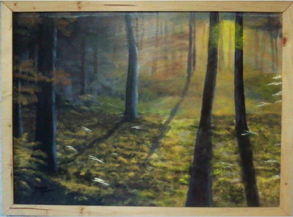 Sunrise Painting - Mystic Sunrise by Jimmy Johnson