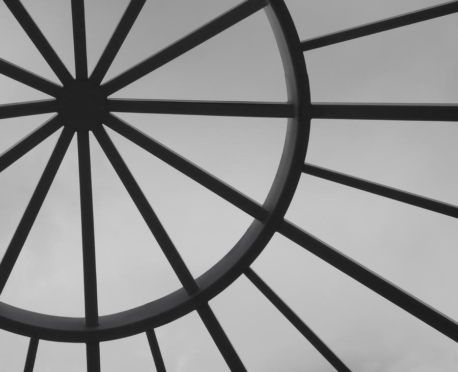 Arts Photograph - Mystic Wheel  by Steven Milner