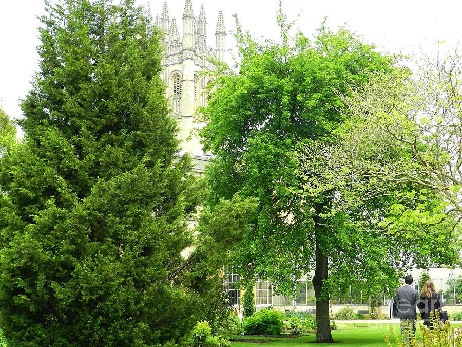 Magdalen College Photograph - Mystical Magdalen by Anne Gordon