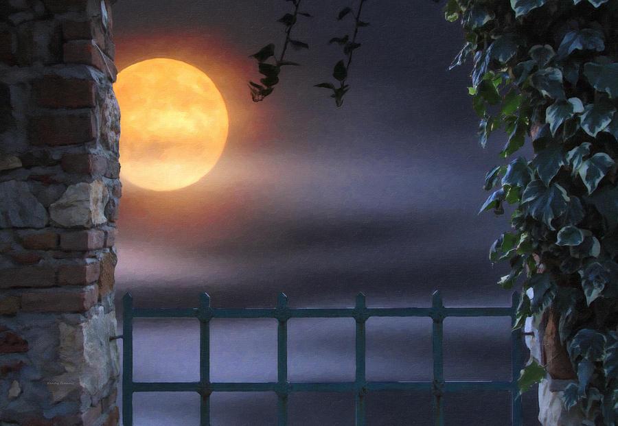 Kenny Francis Photograph - Mystical Moon by Kenny Francis