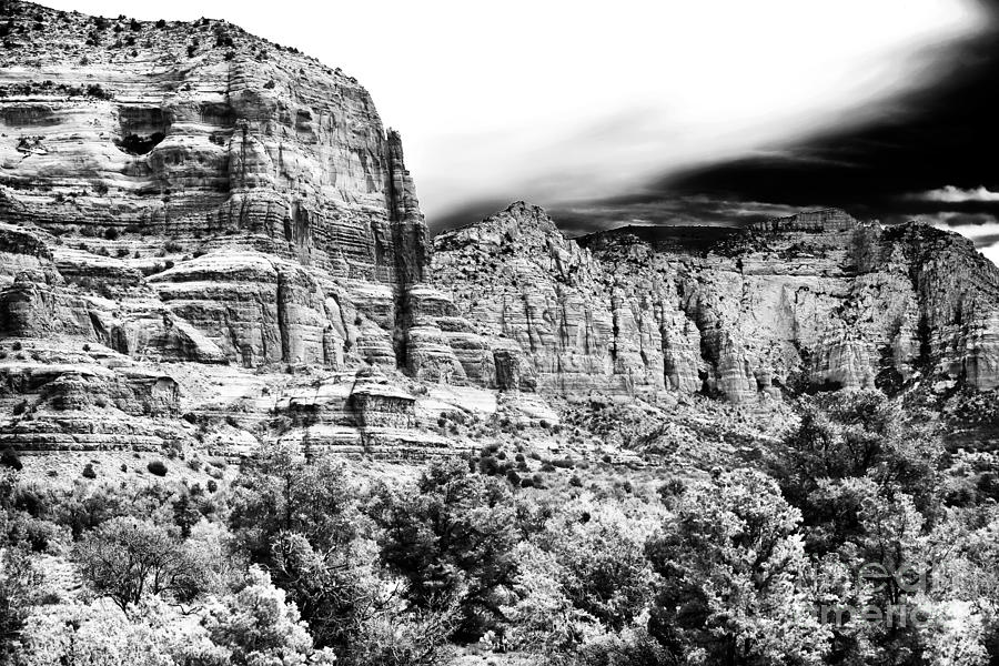 Landscape Photograph - Mystical Rocks by John Rizzuto