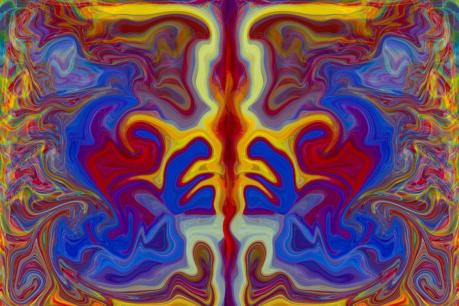 Twisp Painting - Myths Of Dragons by Omaste Witkowski