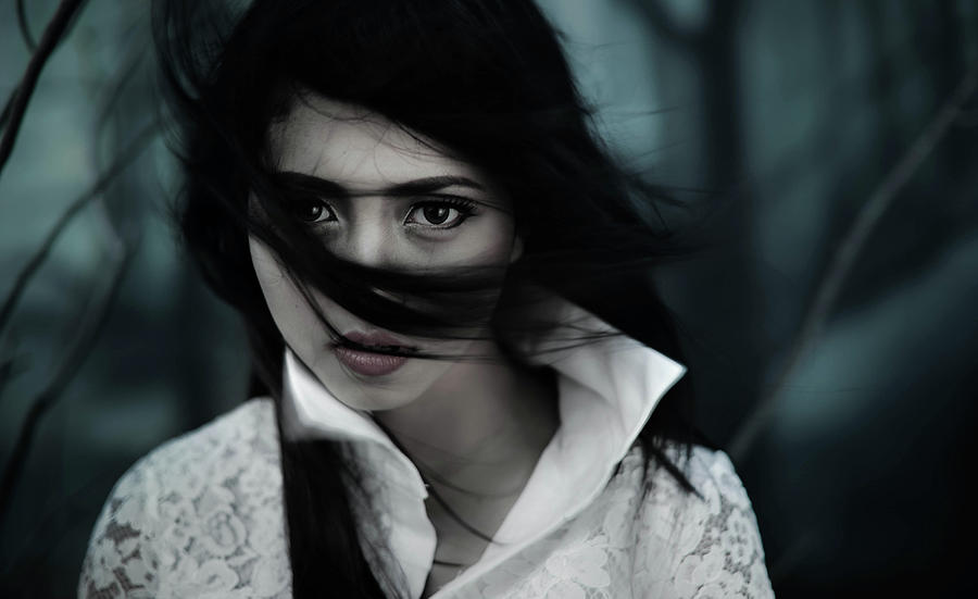 Hair Photograph - N by Yudhistira Yogasara