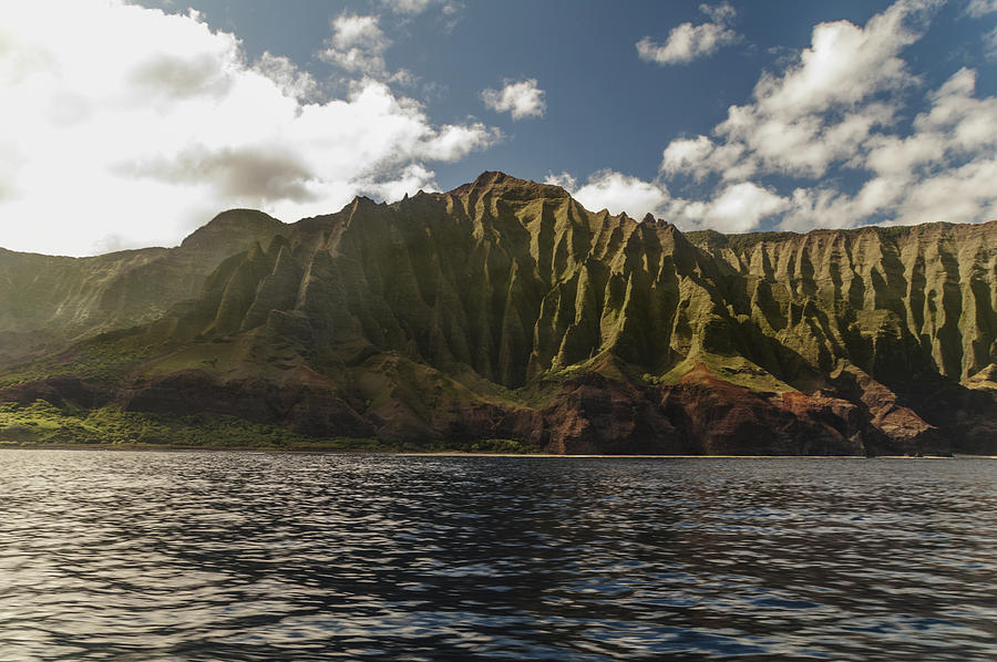 Na Pali Photograph - Na Pali Coast Kauai Hawaii by Brian Harig