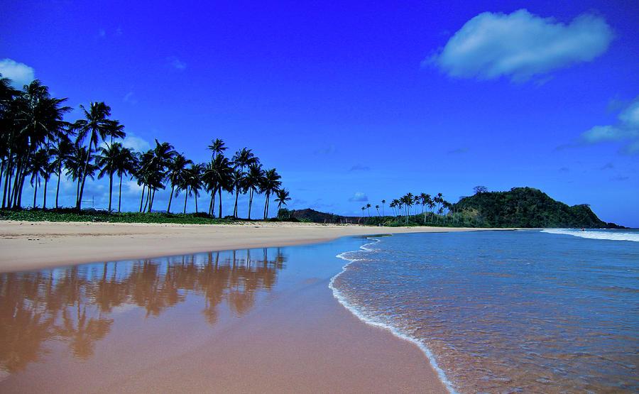 Nacpan Beach, El Nido, Palawan Photograph by Photo By Elvera Venus Tandog