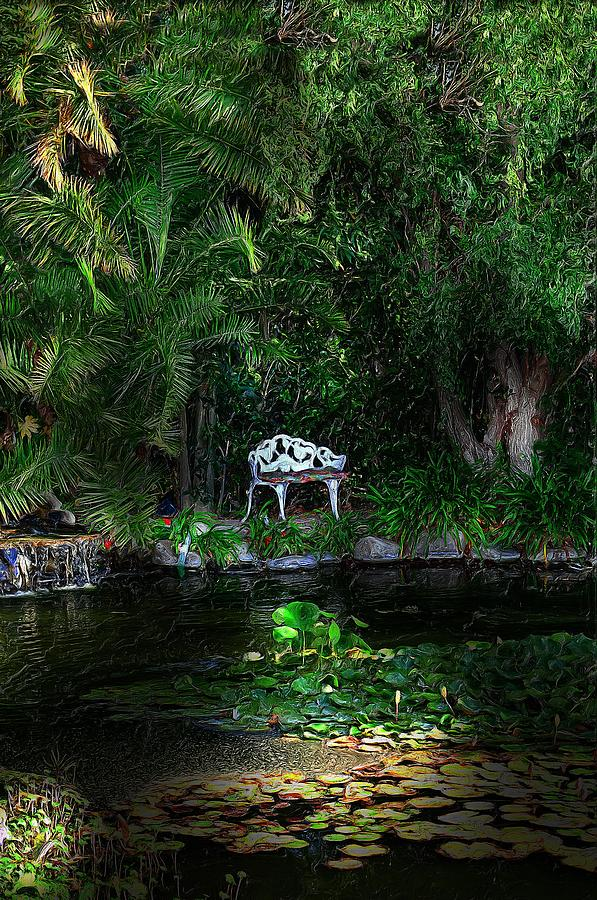 Trees Digital Art - Namaste by Cary Shapiro