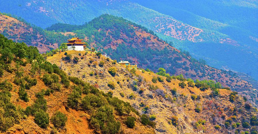 Namus Palace By Lugu Lake Photograph by Feng Wei Photography