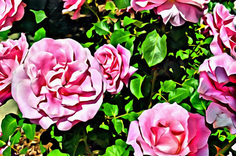 Nana's Roses by Spencer Hughes