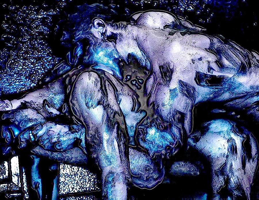 Boy Digital Art - Nano Molto by Bob Bienpensant