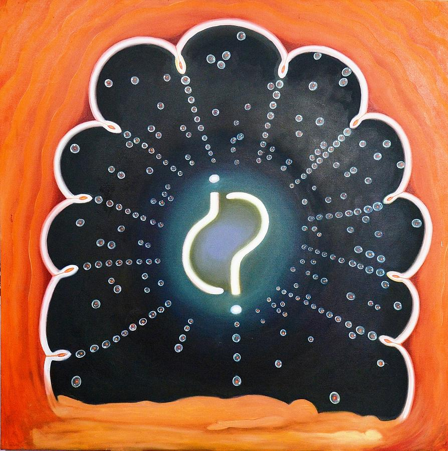 Soul Transformation Painting - Nano Part  Of Supernatural by Rohit kumar Vohra