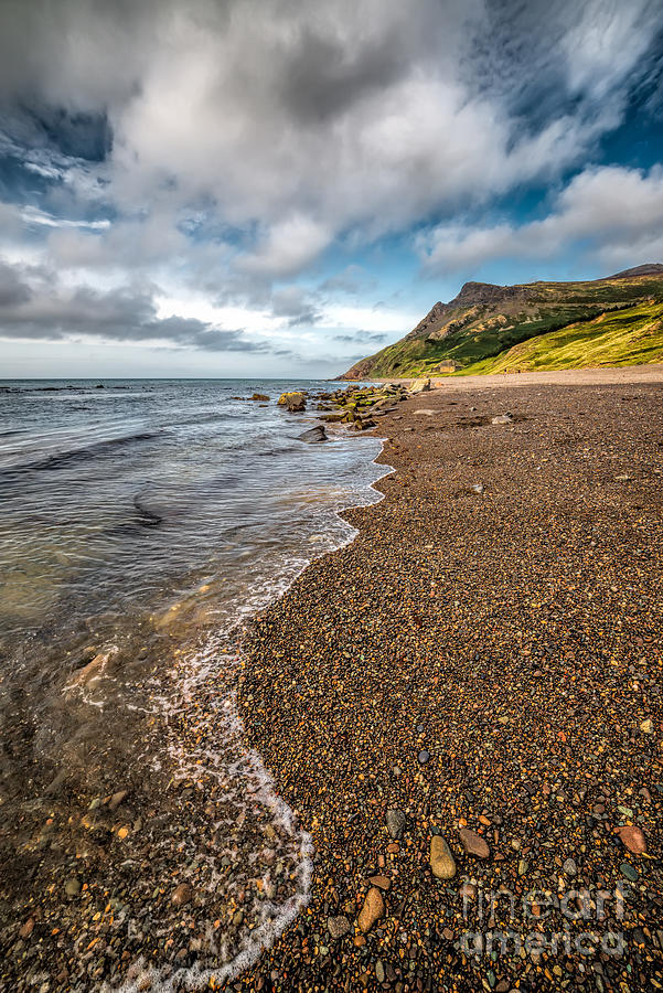 British Photograph - Nant Gwrtheyrn Shore by Adrian Evans