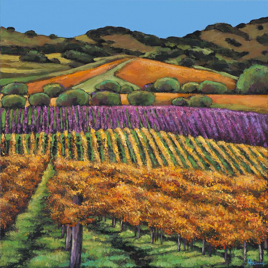 Landscape Painting - Napa by Johnathan Harris