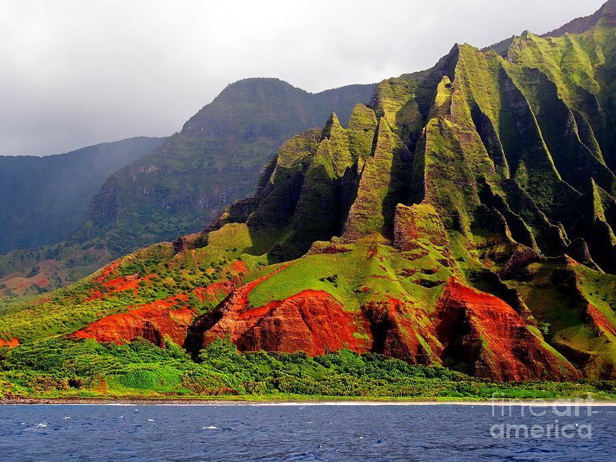 Kauai Photograph - Napali Coast II by Joseph J Stevens