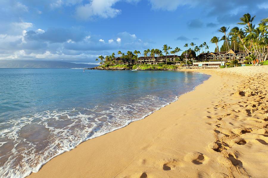 Napili Bay, Maui Photograph by Michaelutech