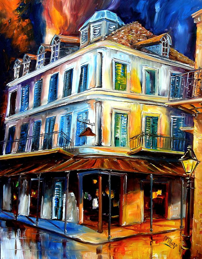 New Orleans Painting - Napoleon House by Diane Millsap