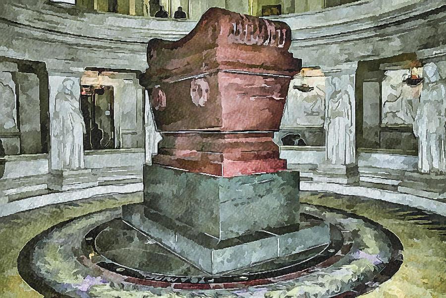 Paris Digital Art - Napoleon Memorial 2 by Yury Malkov