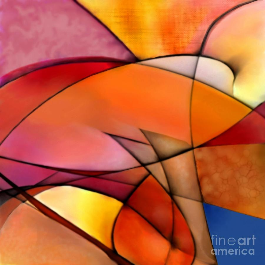 Orange Digital Art - Naranilla by P Crandon