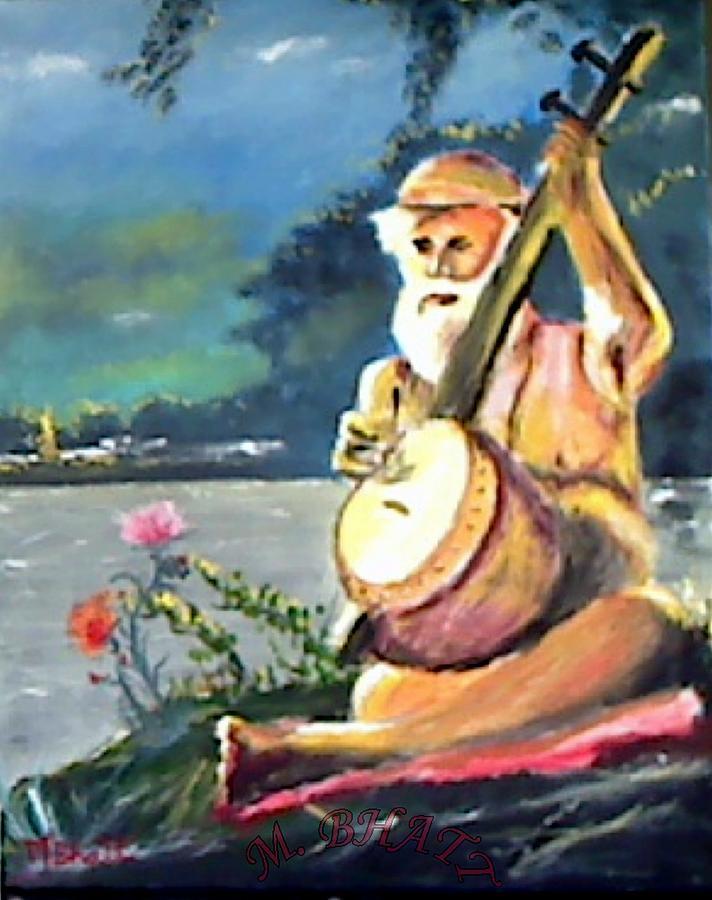 Nareshvar Nath Painting by M Bhatt