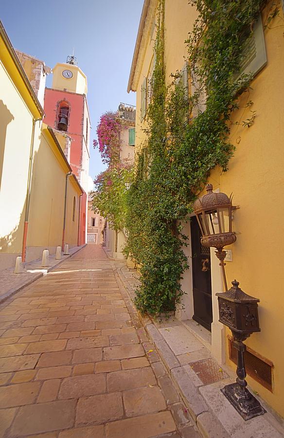 Street Photograph - Narrow Street by Ioan Panaite