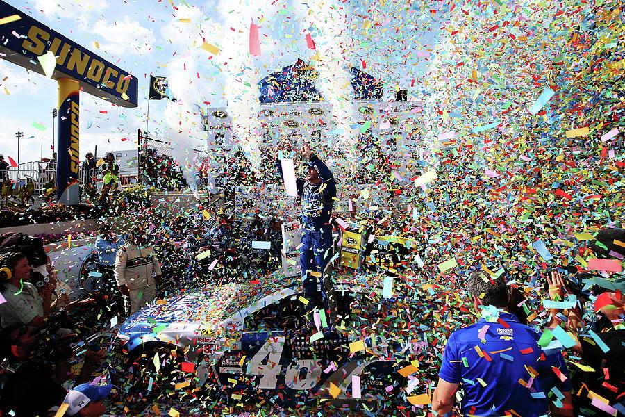 Nascar Sprint Cup Series Fedex 400 Photograph by Sean Gardner