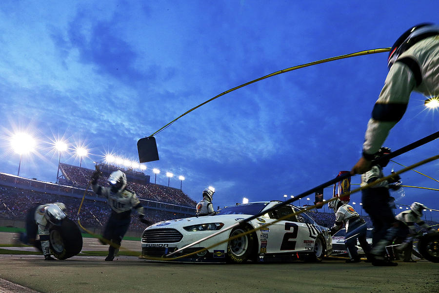 Nascar Sprint Cup Series Quaker State Photograph by Sarah Crabill