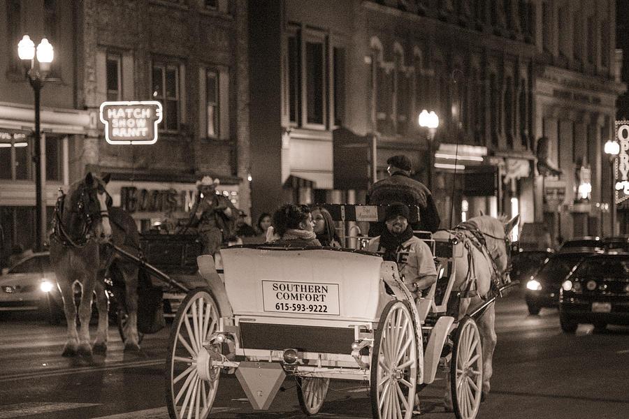 Nashville Photograph - Nashville Carriage Ride by John McGraw