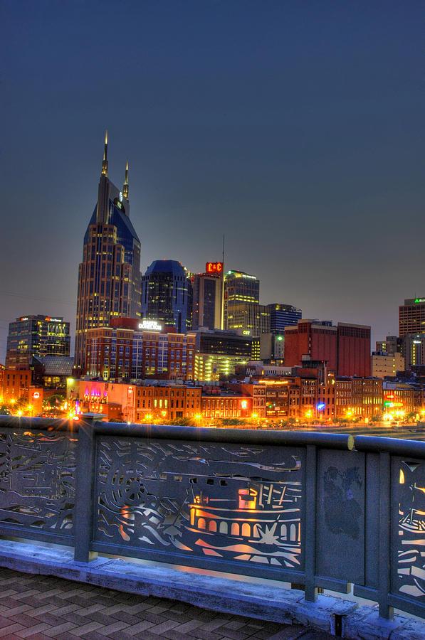 Nashville Pyrography - Nashville Glow by Zachary Cox