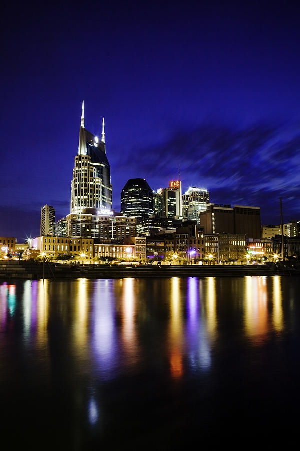 Nashville Photograph - Nashville Skyline by Lucas Foley