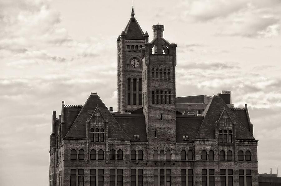 Union Station Photograph - Nashvilles Union Station by Dan Sproul