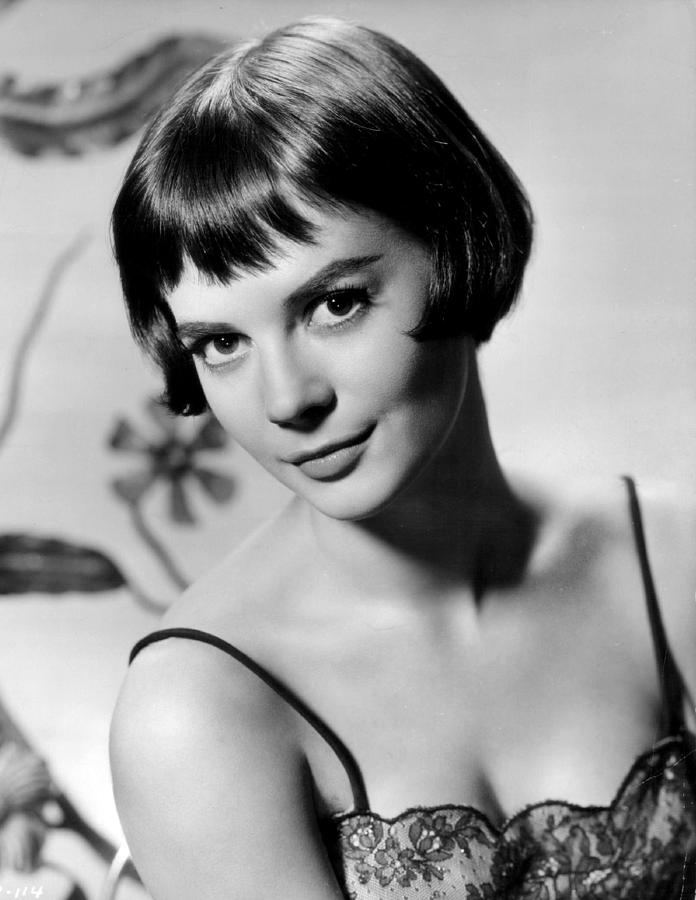 natalie wood with short hair photograph by retro images