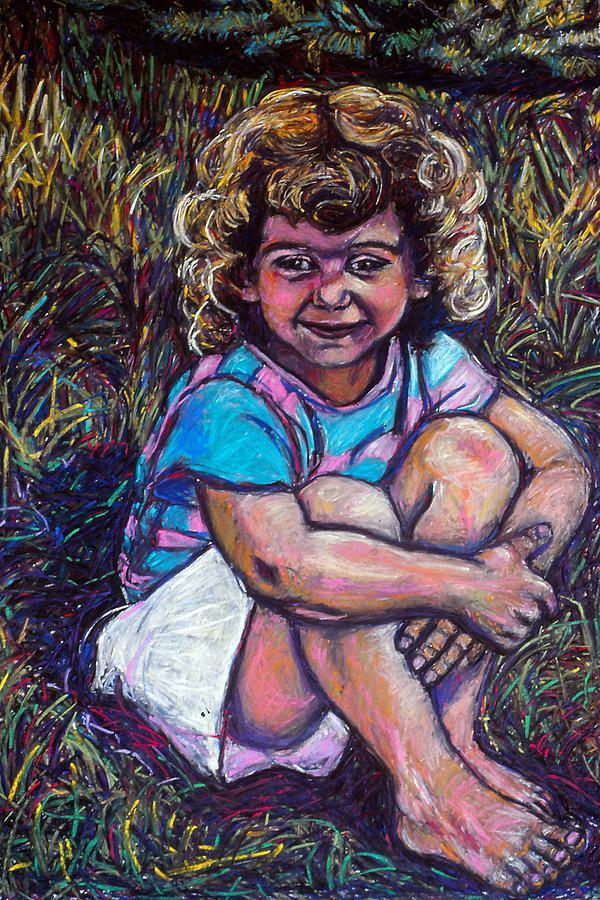 Natasha Painting - Natasha by Kendall Kessler