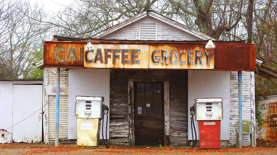 South Photograph - Natchez Store by Keith May