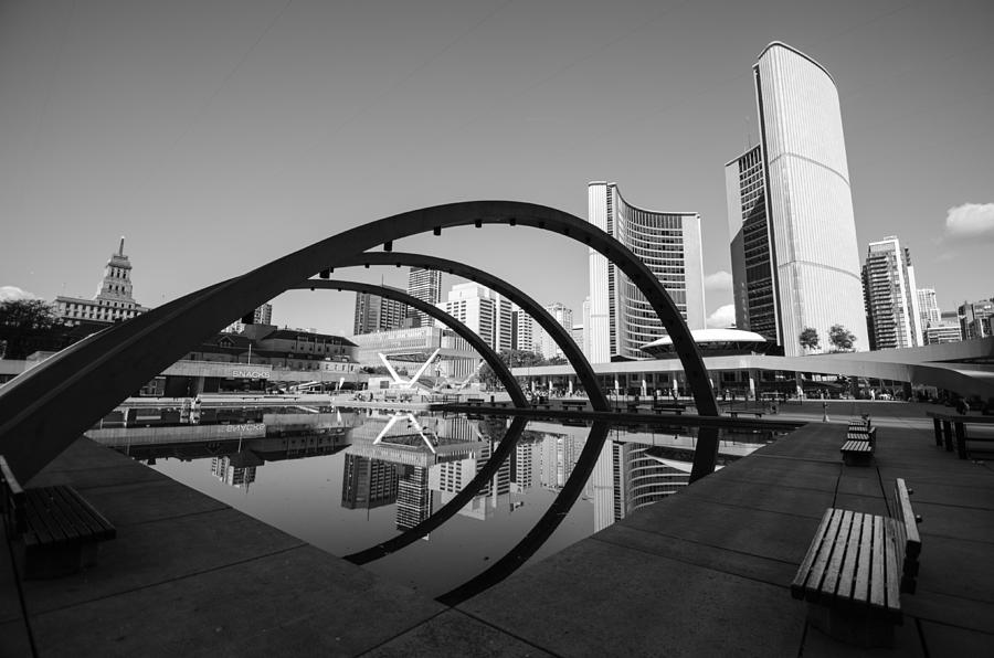 Nathan Photograph - Nathan Phillips Square by Eric Dewar
